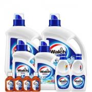 Walch 威露士 除菌洗衣液 8kg +手洗洗衣液550g*2+消毒液 60ml*4+环保袋
