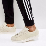 adidas 阿迪达斯 SUPERSTAR 女士贝壳头休闲鞋 BZ0199
