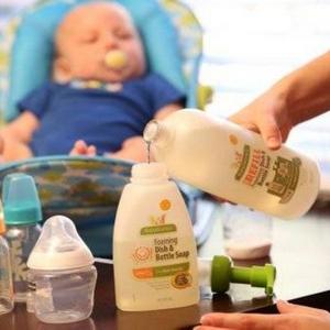 Babyganics 甘尼克宝贝 奶瓶餐具清洁剂 946ml*3瓶 230.19元含税包邮
