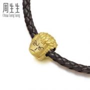Chow Sang Sang 周生生 89239C Charme系列 索隆 黄金转运珠 *2件 1786元包邮(双重优惠)