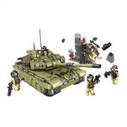 星堡积木 军事系列 霸虎坦克  99元包邮