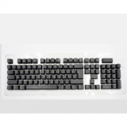Readson 双色透光键帽 机械键盘专用 黑色104键 9.9元包邮