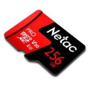 Netac 朗科 PRO MicroSDXC UHS-I U3 V30 TF存储卡 256GB 239元包邮