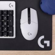 Logitech 罗技 G304 LIGHTSPEED 无线鼠标 白色 送鼠标垫