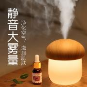 【白菜价】 【颜值炒鸡高!】小蘑菇夜灯迷你加湿器
