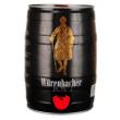 Plus会员:德国进口 Würenbacher 瓦伦丁 黑啤 5L *3件164元包邮