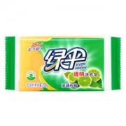 EVER GREEN 绿伞 透明洗衣皂 清新柠檬 208g *4件