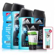 adidas 阿迪达斯 男士洗护套装x3件