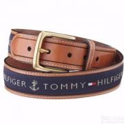Prime会员镇店之宝,TOMMY HILFIGER 汤米希尔费格 男士皮带腰带 11TL02X032 2色