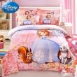 Disney 迪士尼 官方授权儿童床上用品磨毛三/四件套 1.0~1.8米 男女童多款119~168包邮(需用优惠券)