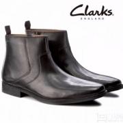 Clarks 其乐 Tilden 男士真皮拉链短靴 Prime会员免费直邮
