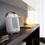 Delonghi 德龙 HFX30C18 台式迷你冷热两用暖风机