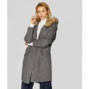 Stradivarius 女士加厚工装派克大衣棉服外套