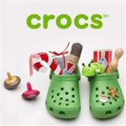 eBay的crocs官方店现有精选鞋履两双8.5折促销