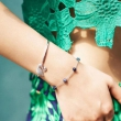 SWAROVSKI 施华洛世奇 Swan 经典镶钻银色天鹅手镯 5011990519元包邮包税