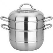 MAXCOOK 美厨 MCZ-177 不锈钢二层蒸锅 26CM +凑单品 70元
