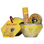 Burt's Bees 小蜜蜂 蜜蜡礼品套装(润唇膏4.25g+手霜8.5g)Prime会员凑单免费直邮含税