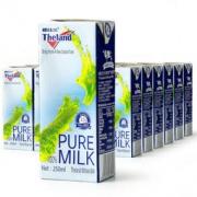 Theland 纽仕兰 全脂牛奶 250ml 24盒 普通装*3件 172元包邮(双重优惠,合57.33元/件)