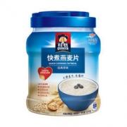 PLUS会员:QUAKER 桂格 早餐谷物 快煮燕麦片 1000g 罐装 19.5元
