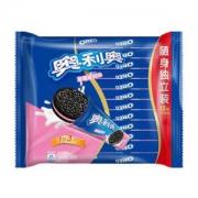 OREO 奥利奥 夹心饼干草莓味 349g *2件