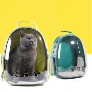 Miloxien 米珞玺恩 宠物猫包 全透明太空舱背包 黄色¥77