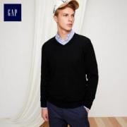 GAP 盖璞 315964 男士V领羊毛针织衫低至105元(3件7折)