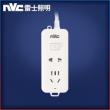nvc-lighting 雷士照明 总控二位插排 1.2米  9.99元包邮9.99元包邮