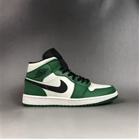 Nike 耐克 Air Jordan 1 Retro mid 篮球鞋 凯尔特人配色