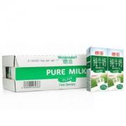 Weidendorf 德亚 超高温灭菌 脱脂纯牛奶 200ml 30盒 *3件147元包邮(合49元/件)