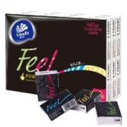 Vinda 维达 Feel系列 手帕纸 4层*24包 *3件