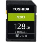 TOSHIBA 东芝 N203 SDXC UHS-I U1 C10 SD存储卡 128GB 139元包邮