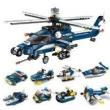 ENLIGHTEN 启蒙 城市警察系列 1801 风暴武装直升机(8合1)31.9元包邮(需用券)