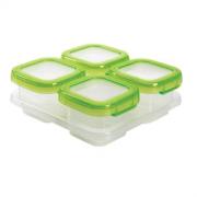 OXO 奥秀 6112400 婴幼儿宝宝辅食盒 4件套  低至44元低至44元