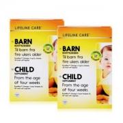挪威进口,Lifeline Care 婴儿鱼油DHA软胶囊 30粒*2盒