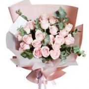 Miss Molly 安娜公主 花束礼盒 21朵粉玫瑰花束 128元包邮(需用券)