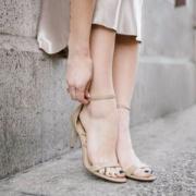 反季囤货,Sam Edelman 女士真皮一字带凉鞋 2色