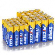 PKCELL 比苛 碳性电池 5号/7号 共40粒