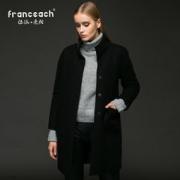 大额神券:法涵·意弛 Franceach 两面穿羊毛呢大衣 299元包邮(499-200)299元包邮(499-200)