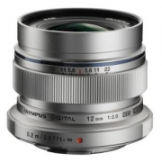 OLYMPUS 奥林巴斯 M.ZUIKO DIGITAL ED 12mm f2.0 广角定焦镜头 银色
