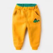 Tutuboy 儿童加绒休闲棉裤 *3件