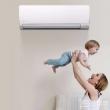 FUJITSU 富士通 ASQG09LPCA 全直流变频冷暖壁挂式空调 1匹2598元包邮