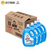 21日0点-1点:4瓶x3kg  Baimao 白猫 高效洁净洗衣液53.4元包邮