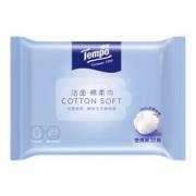 京东PLUS会员: Tempo 得宝 洁面棉柔巾 便携装 20抽 天然无味 5元,可满20-85元,可满20-8