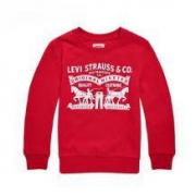levis 李维斯 儿童纯棉加绒印花卫衣99元包邮(券后)