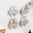 Yom 莜牧 无痕胶粘贴鞋架 折叠壁挂式 5个装  17.9元包邮17.9元包邮