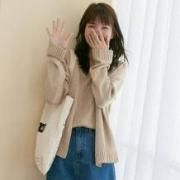 QFOUR 女士韩版针织外套