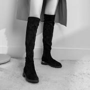 意尔康 2018新款女士中长靴