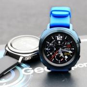 三星(SAMSUNG)  Gear Sport 智能运动手表 蓝色