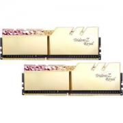G.SKILL 芝奇 Trident Z Royal 皇家戟 DDR4 台式机内存 (8G*2、3000频率、光跃金)