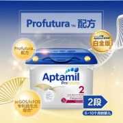 Aptamil 爱他美 白金版 婴幼儿奶粉 2段 800g*4罐 ¥676.16含税包邮